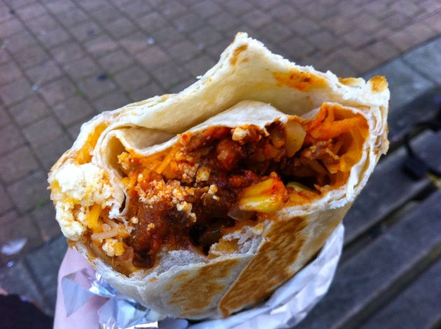 Spicy Pork Burrito