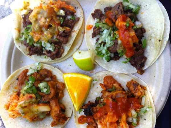 Beef and Pork Bulgogi Tacos