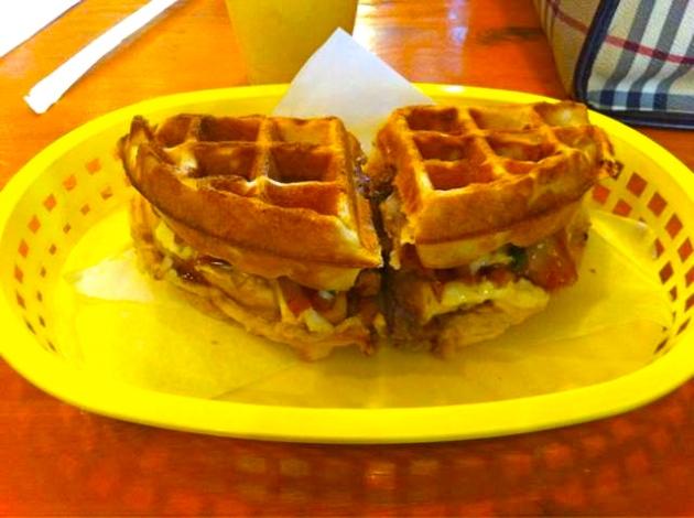 Bulgogi Waffle