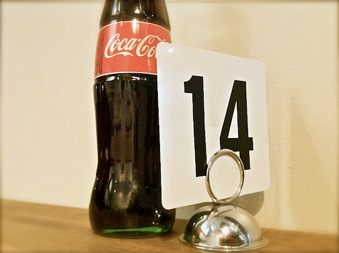 Coke in Glass Bottle