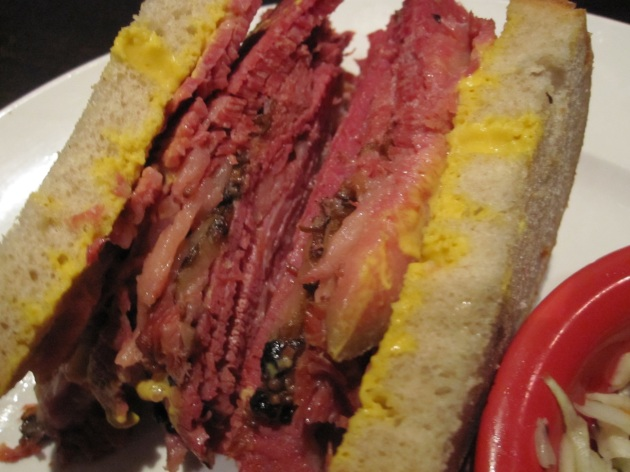 Medium Meat Smoked Meat Sandwich