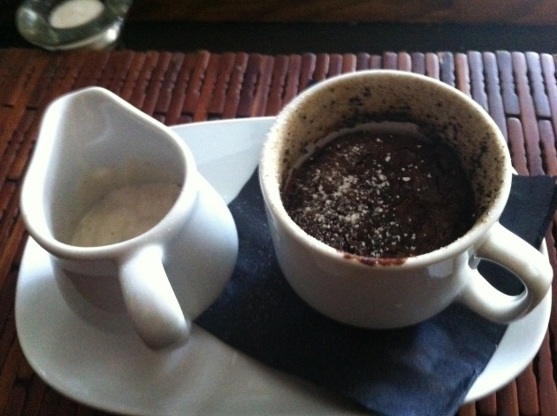 Molten Chocolate Pot With Coffee Cream