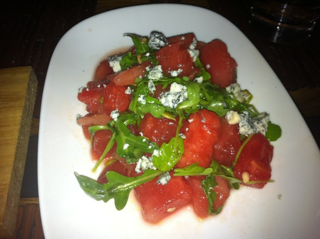 Watermelon and Valdeon Salad