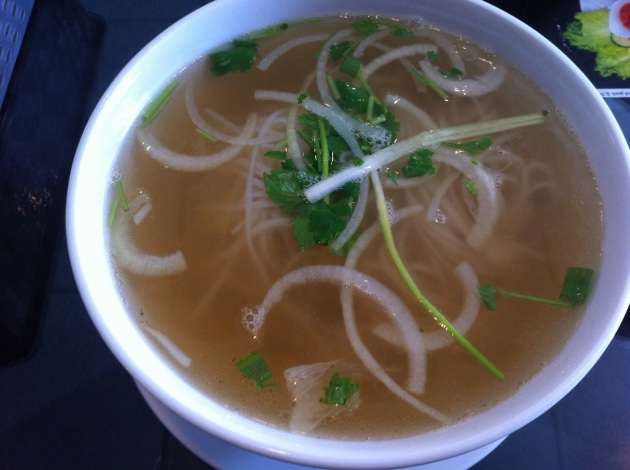 Pho with no meat