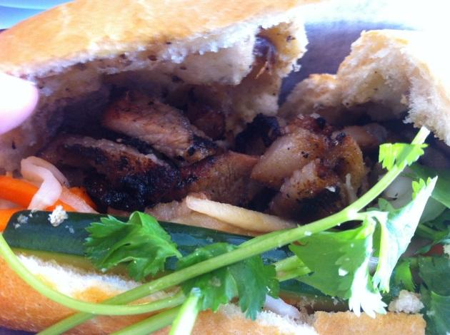 Grilled Pork Baguette