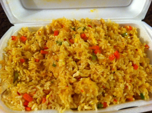 Chilli Pepper Fried Rice