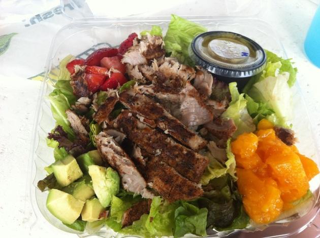 One Island Ahi Salad