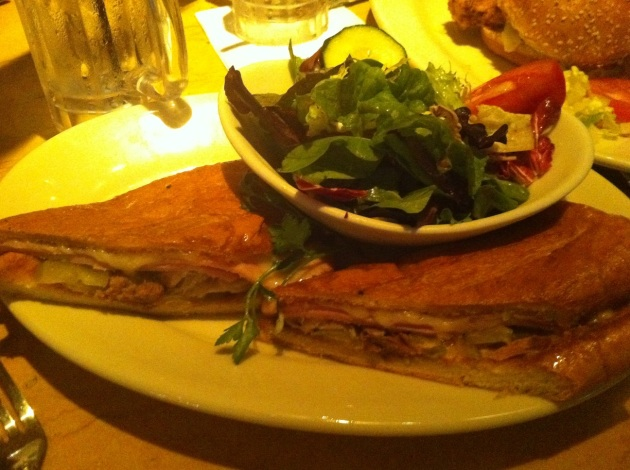 Cuban With Green Salad