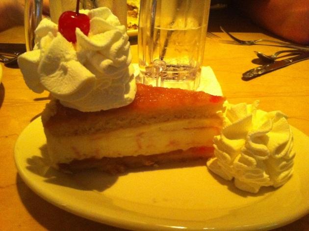 Pineapple Upside Down Cake Cheesecake