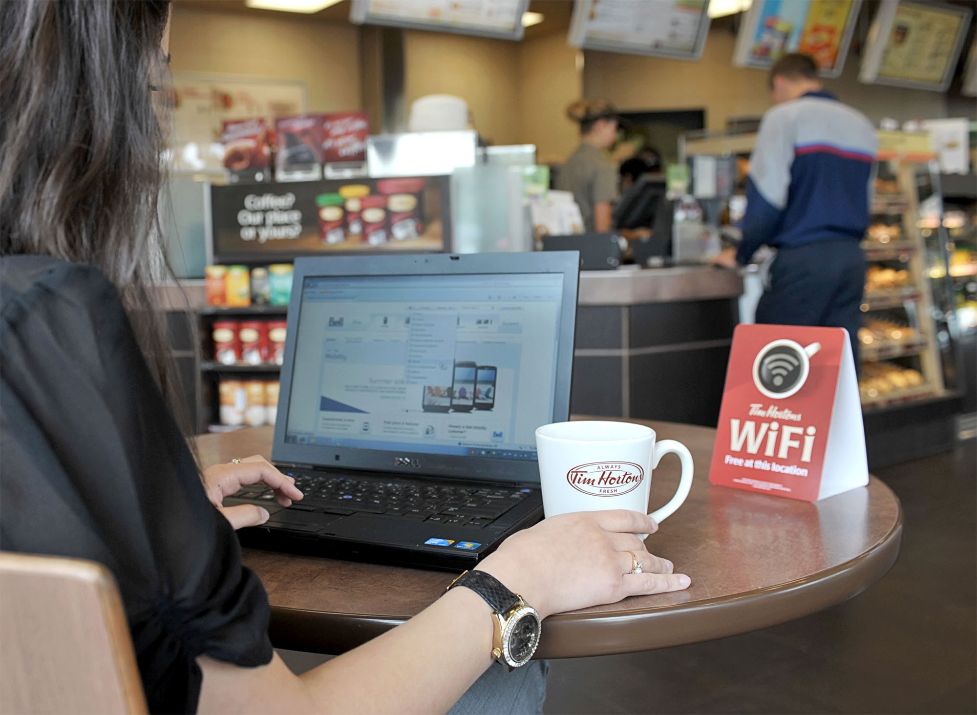 Tim Horton S Is Getting Free Wifi The Food Queen