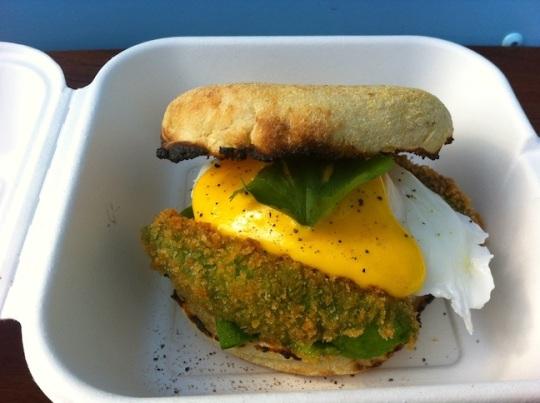 Tempura Panko Avocado Sandwich