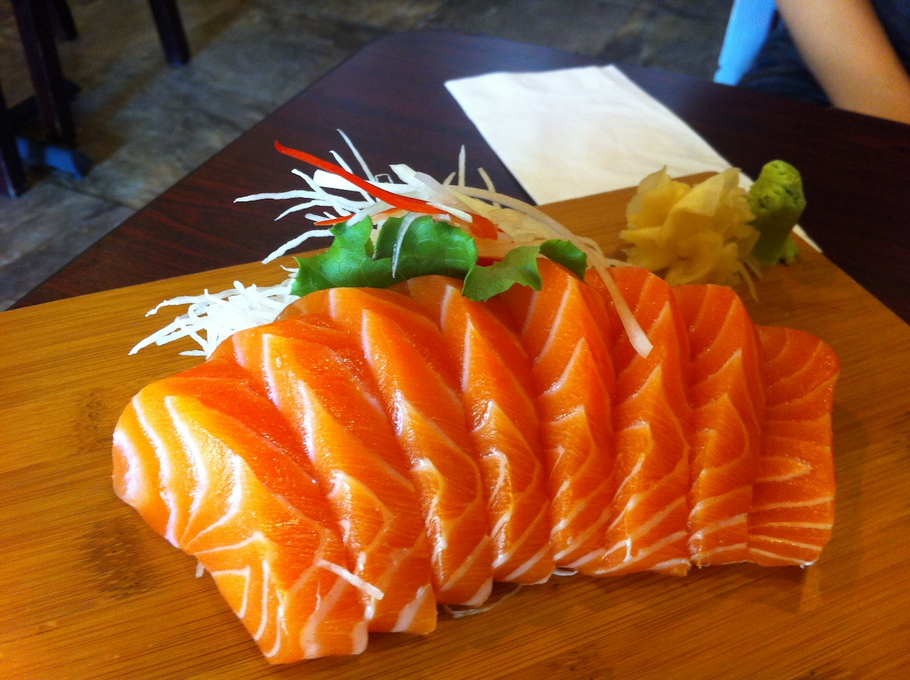 Gaya sushi the food queen vancouver food reviews for Best sashimi fish