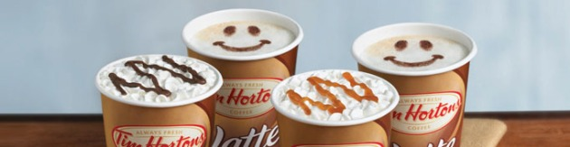 Tim Hortons $1 Specialty Drinks