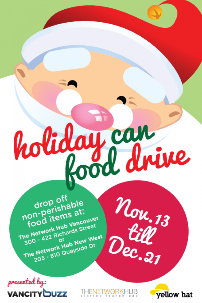 Holiday Can Food Drive | THE FOOD QUEEN – Vancouver food ...