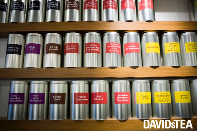 DAVIDsTEA opens in Pacific Centre