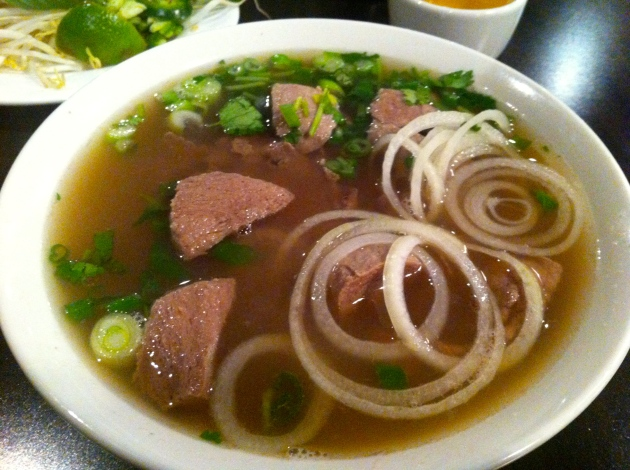 Rare Beef and Beef Ball Pho