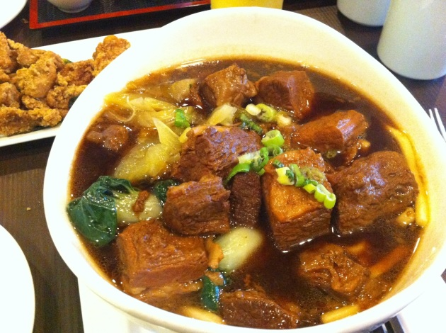 Taiwanese Style Beef Noodle in Soup