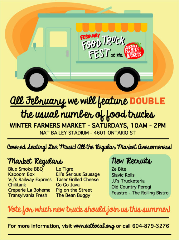 Vancouver Farmers Market Food Truck Fest