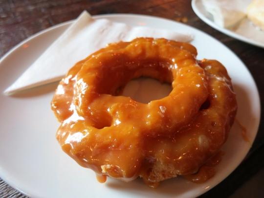 Salted Caramel Doughnut