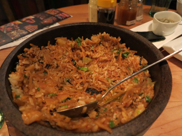 Kimchi Sobameshi Stone Bowl
