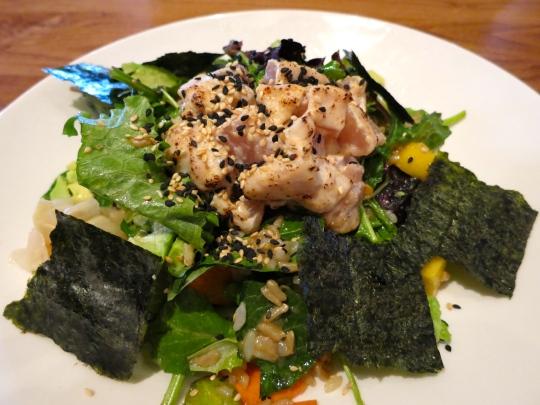 Albacore Tuna Sushi Salad