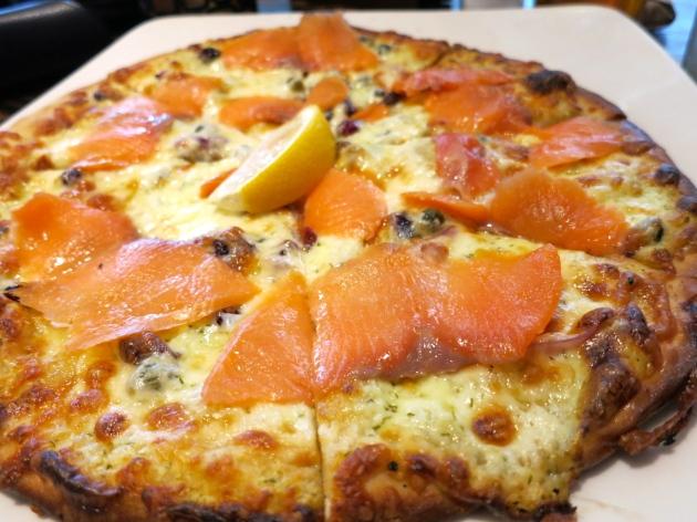 Wild Smoked Salmon Pizza