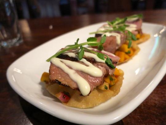 Ahi Tuna Won Ton Tacos