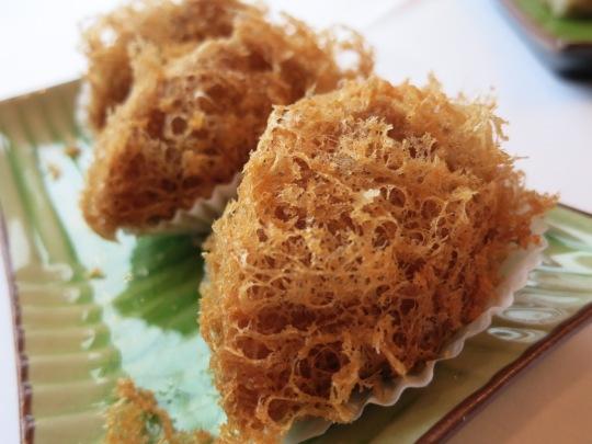 Deep Fried Taro Dumpling With Minced Pork