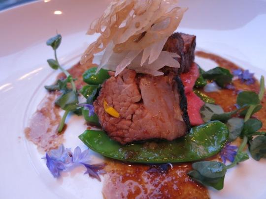 Grilled Galbi Marinated Pork