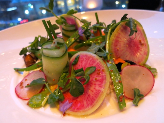 Local Seasonal Spring Salad