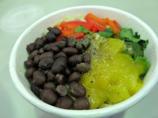 Mango Black Bean Rice Bowl