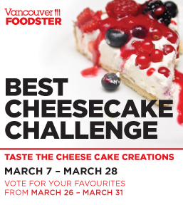 Vancouver Foodster Cheesecake Challenge