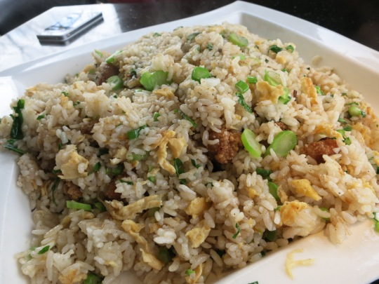 Deep-Fried Chicken Nugget Fried Rice