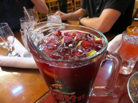 Red Sangria Pitcher