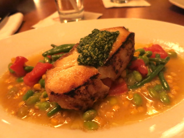 Sautéed Black Grouper