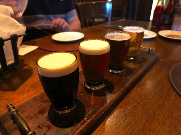 The Four Provinces Beer Flight