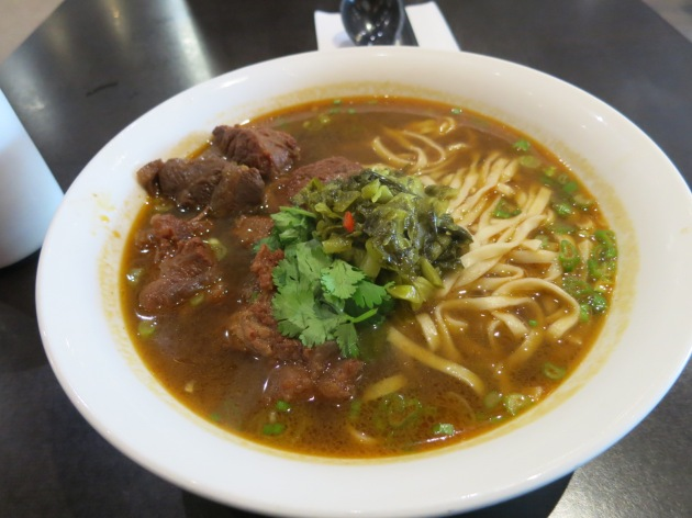 Beef Sirloin with Regular Noodles in Soup
