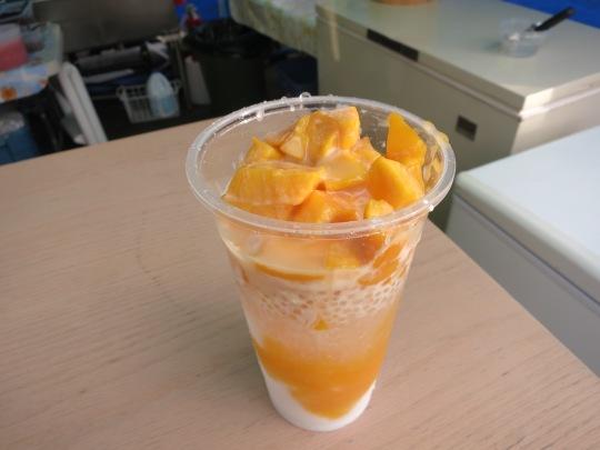 Fresh Mango Tapioca