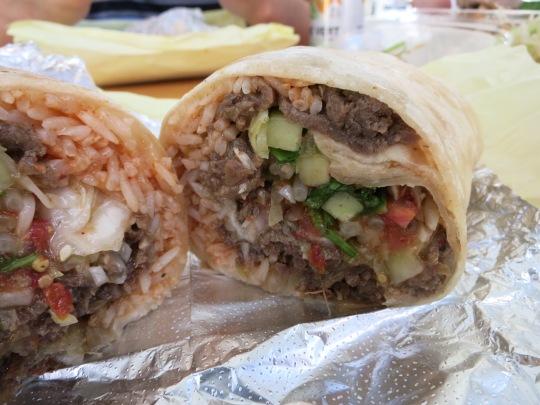 Bulgogi Beef Burrito