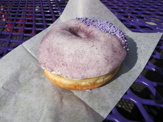Grape Ape Doughnut
