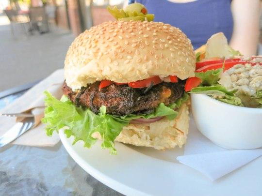 Moroccan Veggie Burger