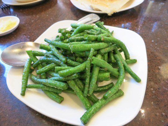 Sautéed String Beans with Garlic