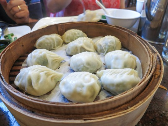 Vegetable and Pork Dumplings