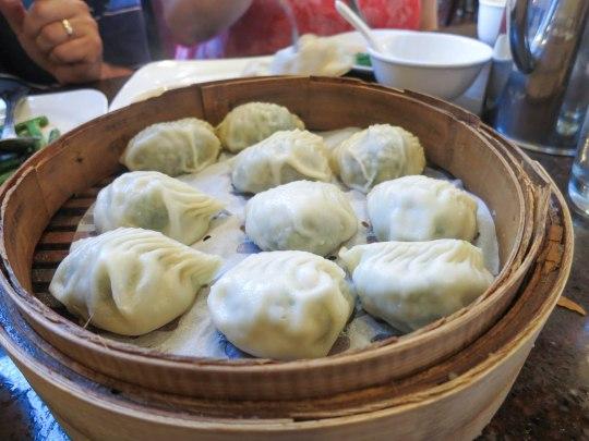 Vegetable and Pork Dumplings
