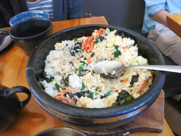Salmon Hot Stone Rice Bowl