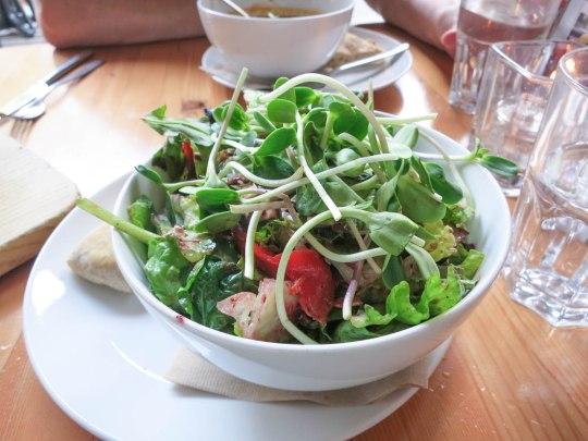 Basil Blackberry Salad