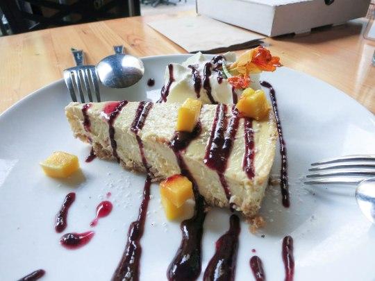 Mango Lemon Cheesecake