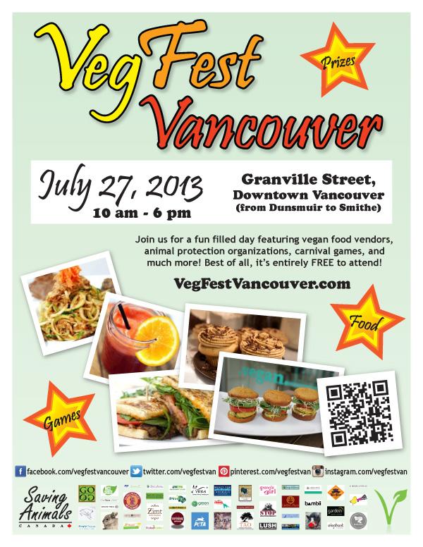 Veg Fest Vancouver 2013