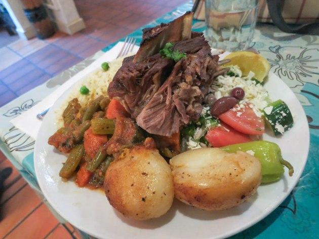 Roast Lamb Platter