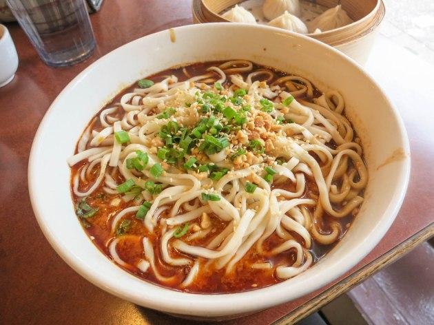 Vegetarian Tan Tan Noodles